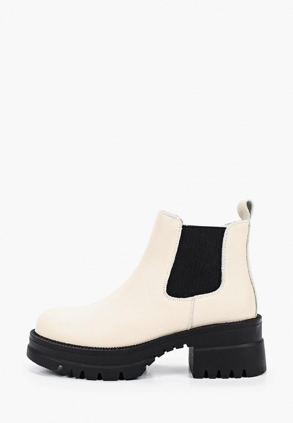женские ботинки-челси sprincway, белые