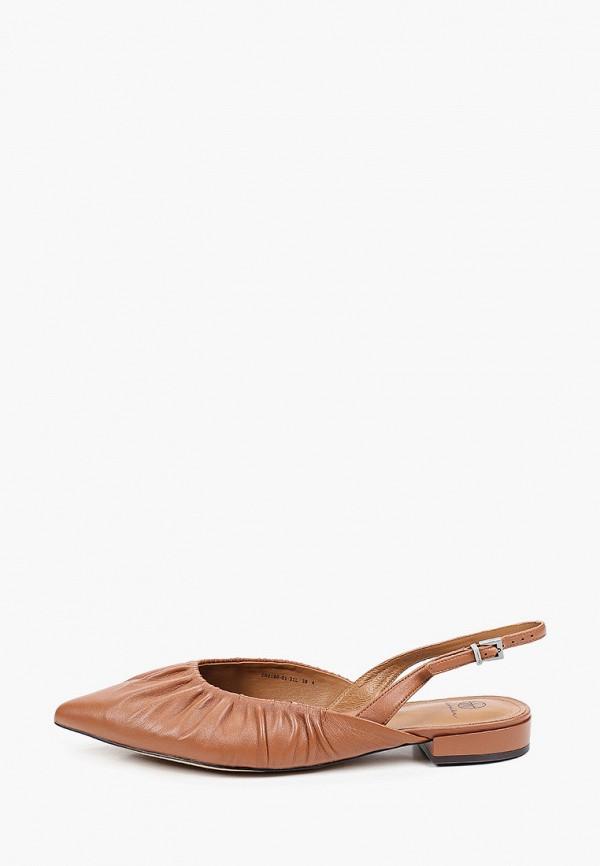 Туфли Эконика коричневого цвета