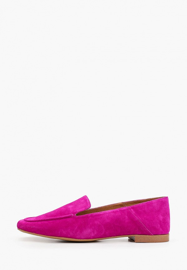 женские лоферы эконика, фиолетовые