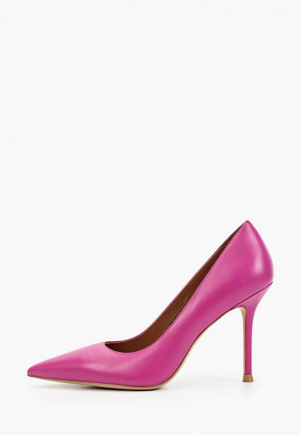женские туфли-лодочки эконика, фиолетовые