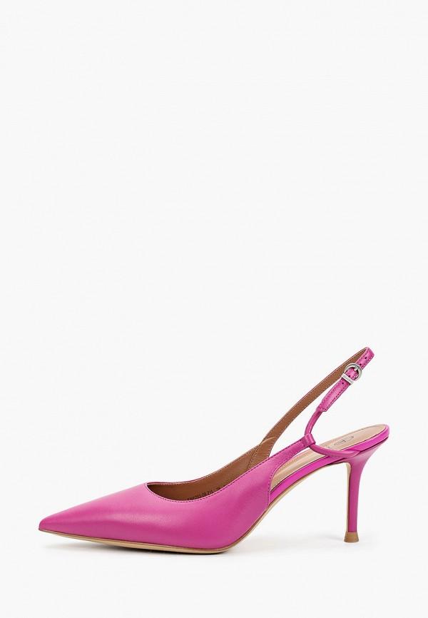 женские туфли эконика, фиолетовые