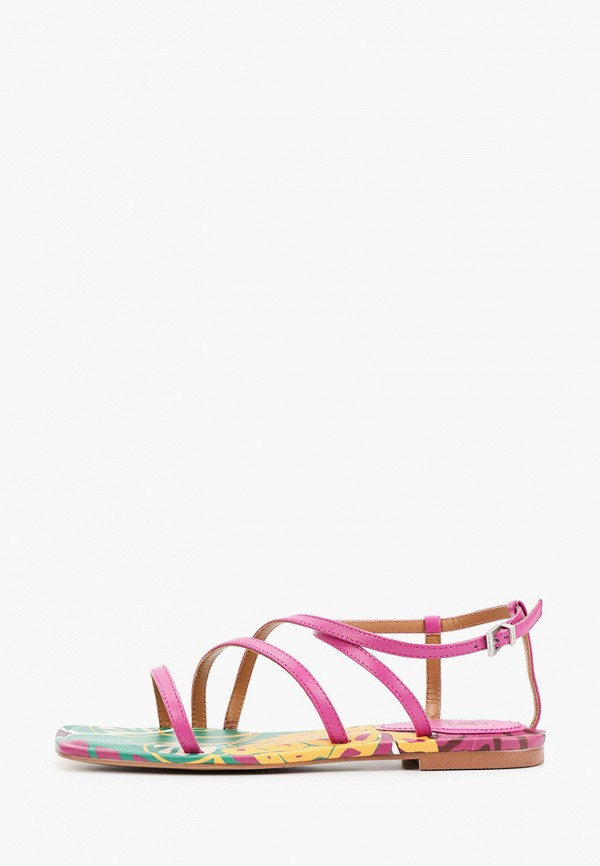 женские сандалии эконика, фиолетовые