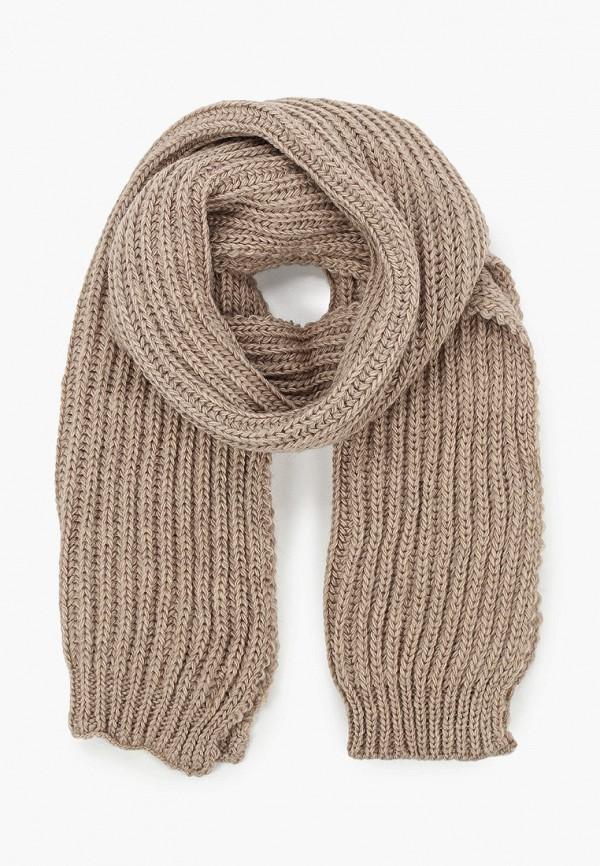 женский шарф sophie ramage, коричневый