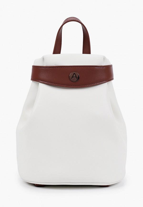 женский рюкзак alla pugachova, белый