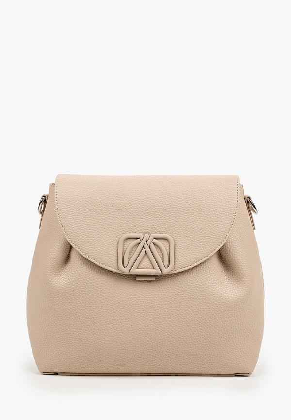 женский рюкзак эконика, бежевый