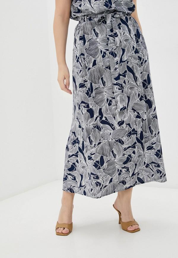 женская юбка-трапеции horosha, синяя