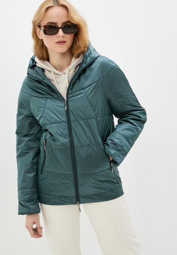 женская утепленные куртка dizzyway, хаки