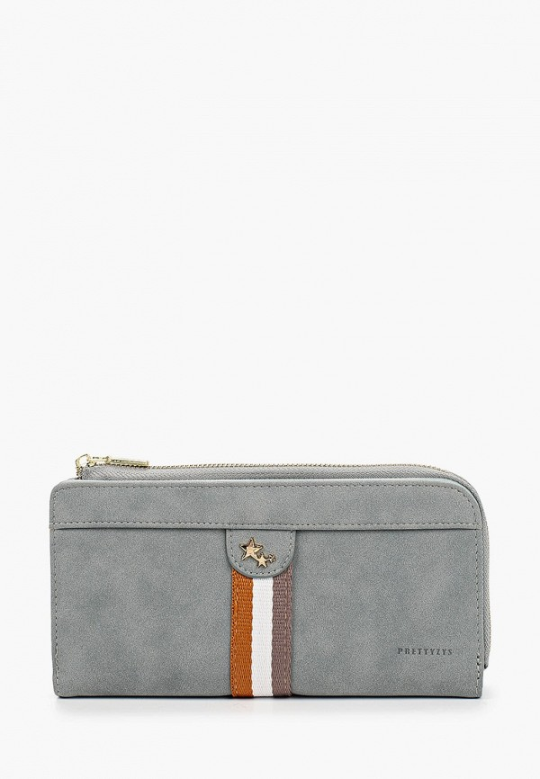 женский кошелёк mon mua, серый