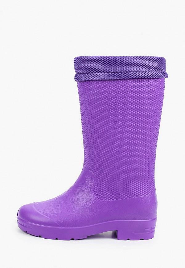 женские резиновые сапоги evart, фиолетовые