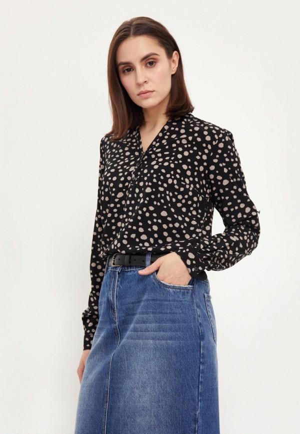 Блуза Finn Flare черного цвета