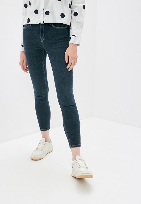 женские джинсы скинни colin's, серые