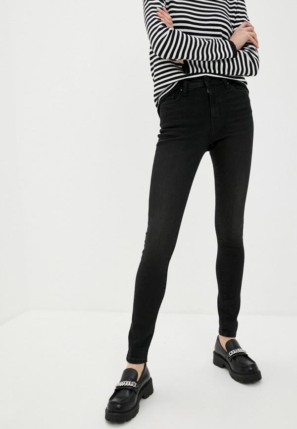 женские джинсы скинни colin's, черные