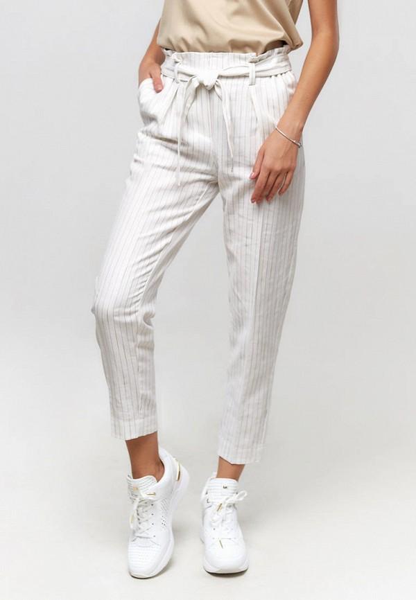 женские повседневные брюки ora, белые