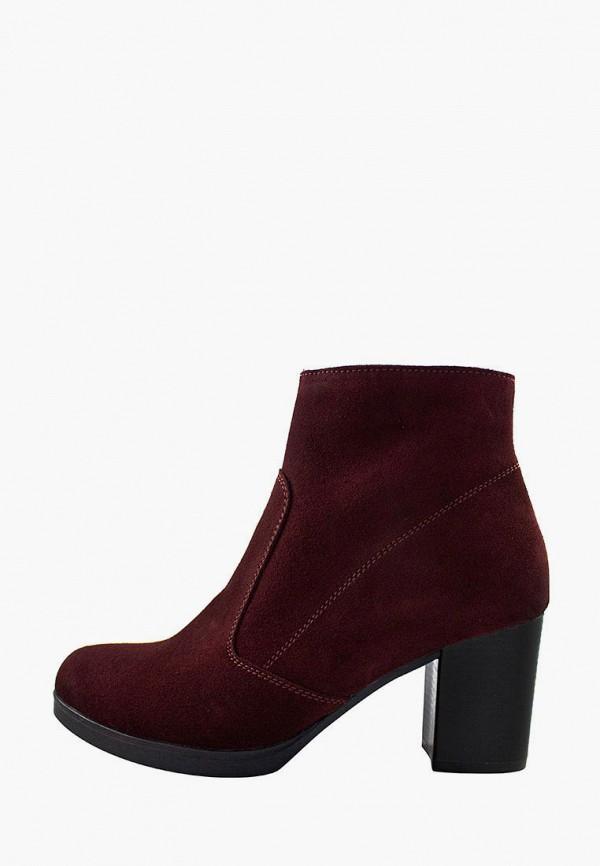женские ботильоны holiday shoes, бордовые
