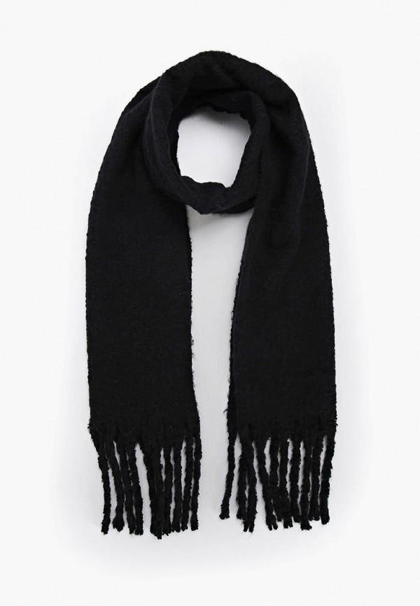 женский шарф terranova, черный