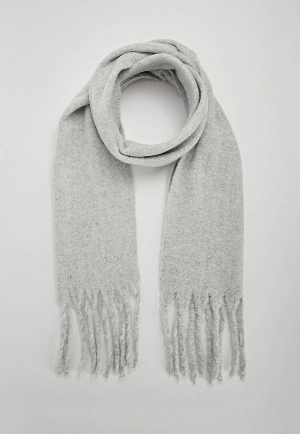 женский шарф terranova, серый