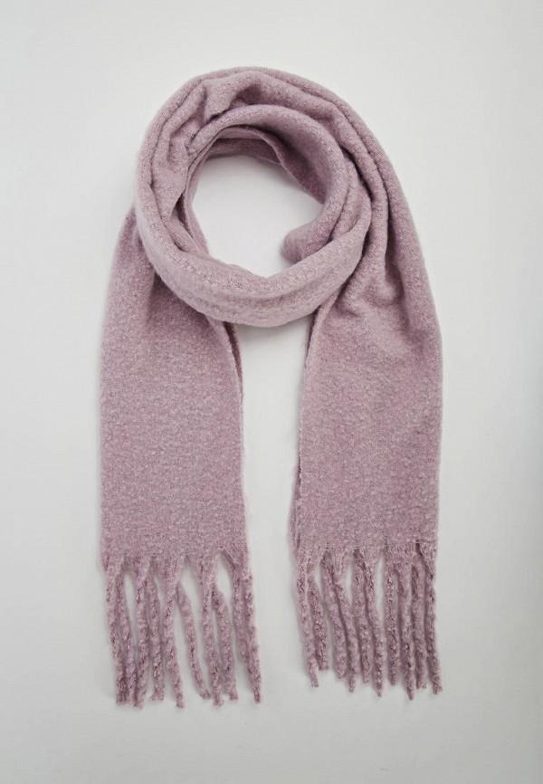 женский шарф terranova, фиолетовый