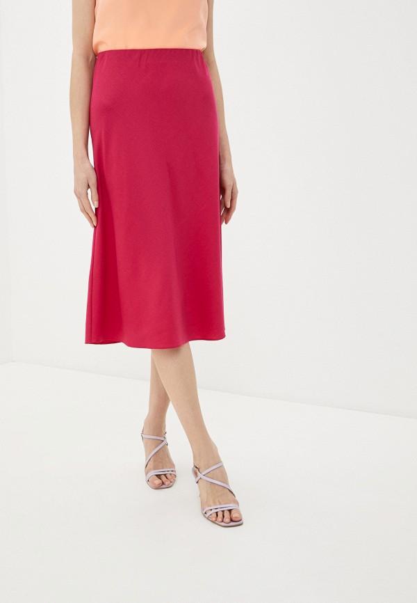 женская юбка-трапеции селфиdress, розовая