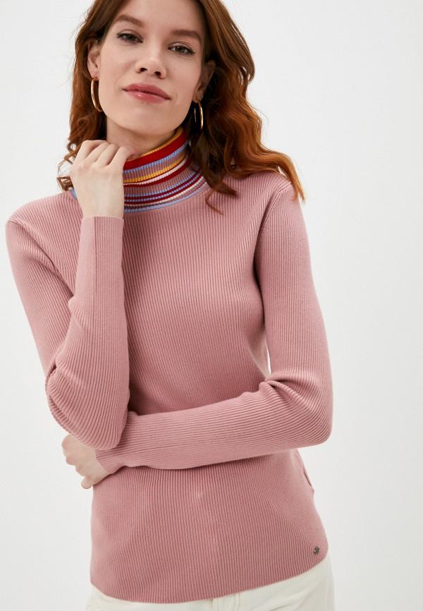 Водолазка Finn Flare розового цвета