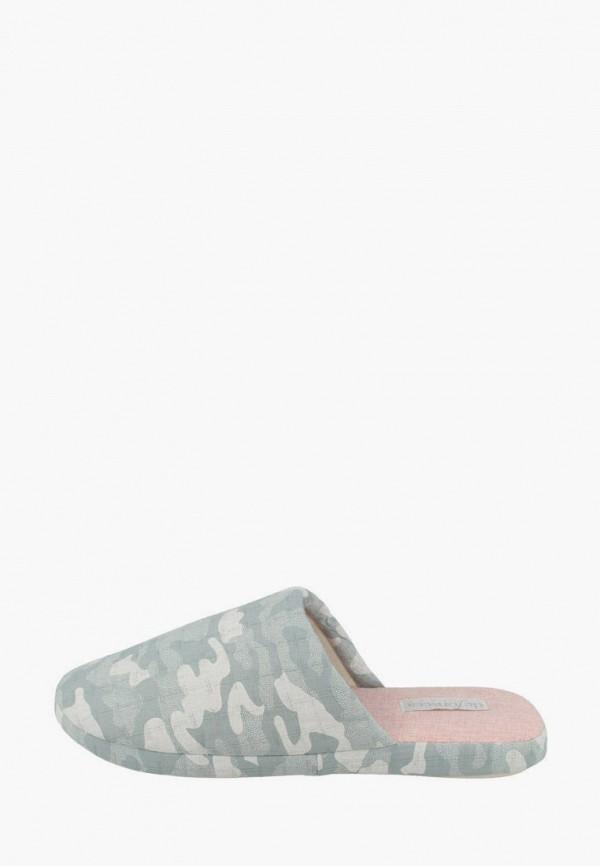женские тапочки de fonseca, серые