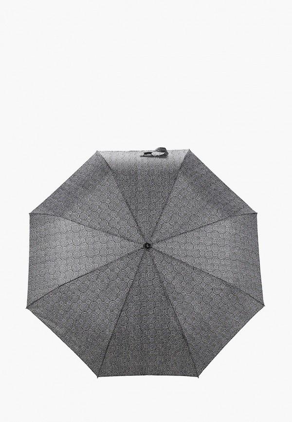 женский складные зонт zemsa, серый