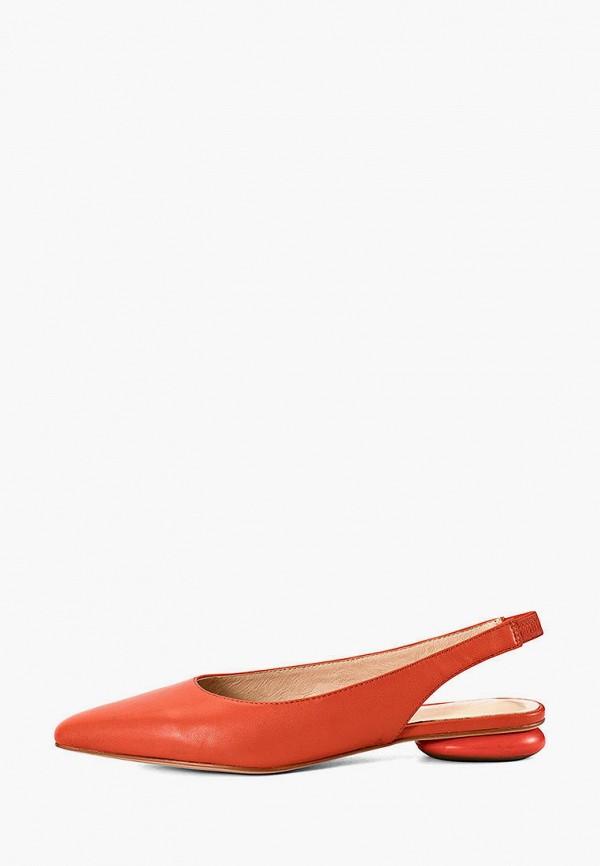 женские туфли portal, оранжевые