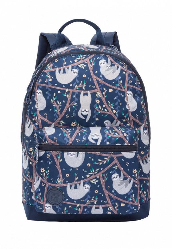 женский рюкзак grizzly, синий