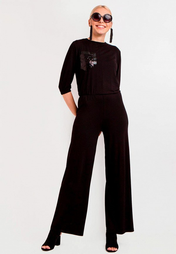 женский комбинезон garne, черный