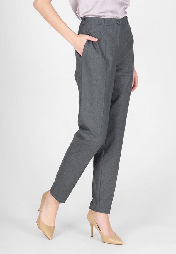 женские зауженные брюки eliseeva olesya, серые