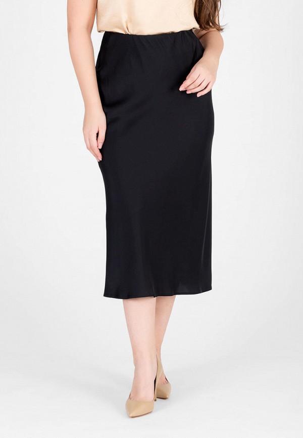 женская прямые юбка eliseeva olesya, черная
