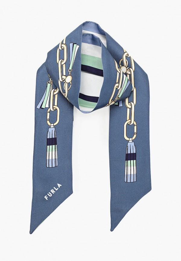 женский шарф furla, разноцветный