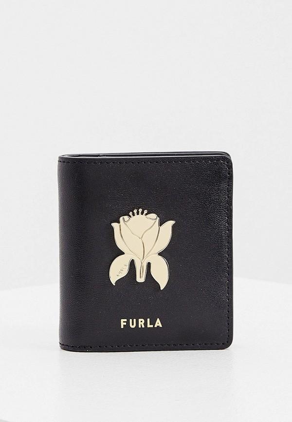 женский кошелёк furla, черный
