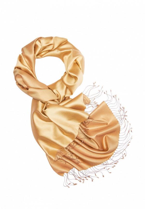 женский палантин michel katana, золотой