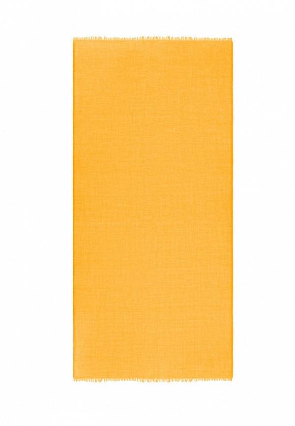 женский палантин michel katana, желтый