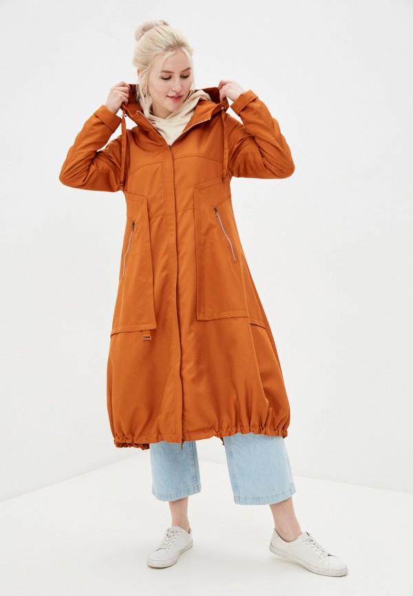 женский плащ dimma, оранжевый