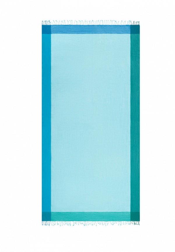 женский палантин michel katana, голубой