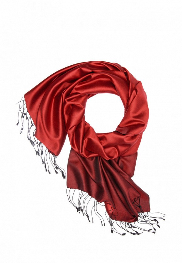 женский палантин michel katana, красный