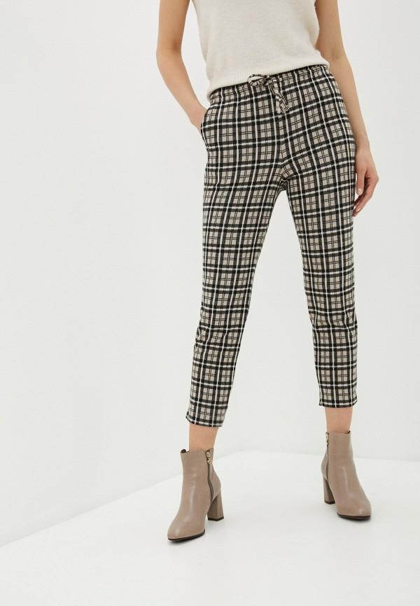 женские повседневные брюки mark formelle, коричневые
