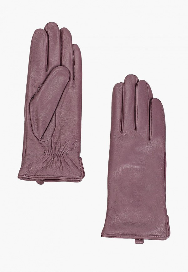 женские кожаные перчатки pitas, фиолетовые