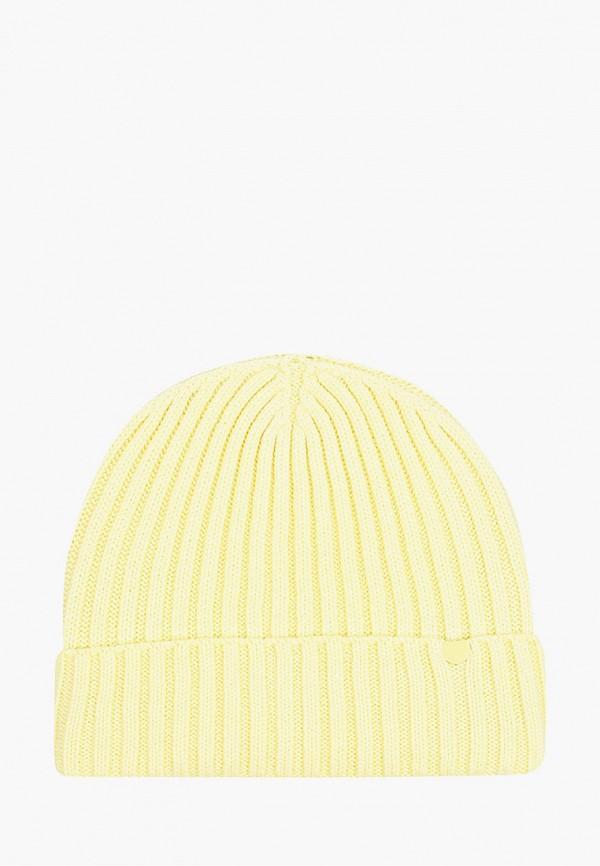 женская шапка ultra leks 2001, желтая