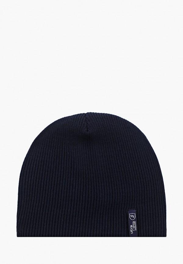 женская шапка ultra leks 2001, синяя