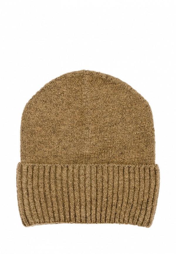женская шапка l'maro, коричневая