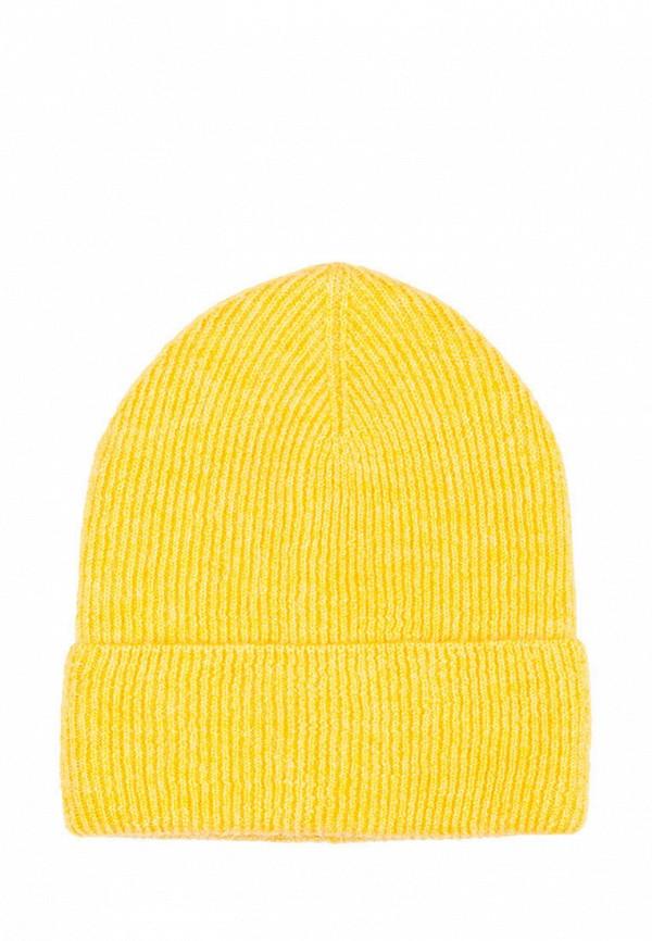 женская шапка l'maro, желтая