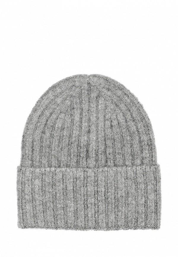 женская шапка l'maro, серая