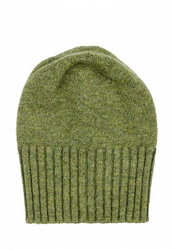 женская шапка l'maro, зеленая