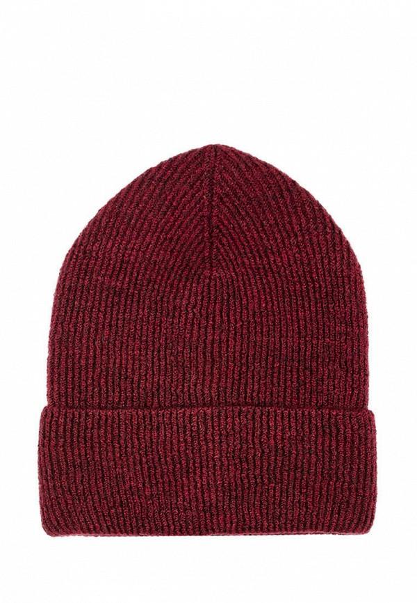 женская шапка l'maro, бордовая