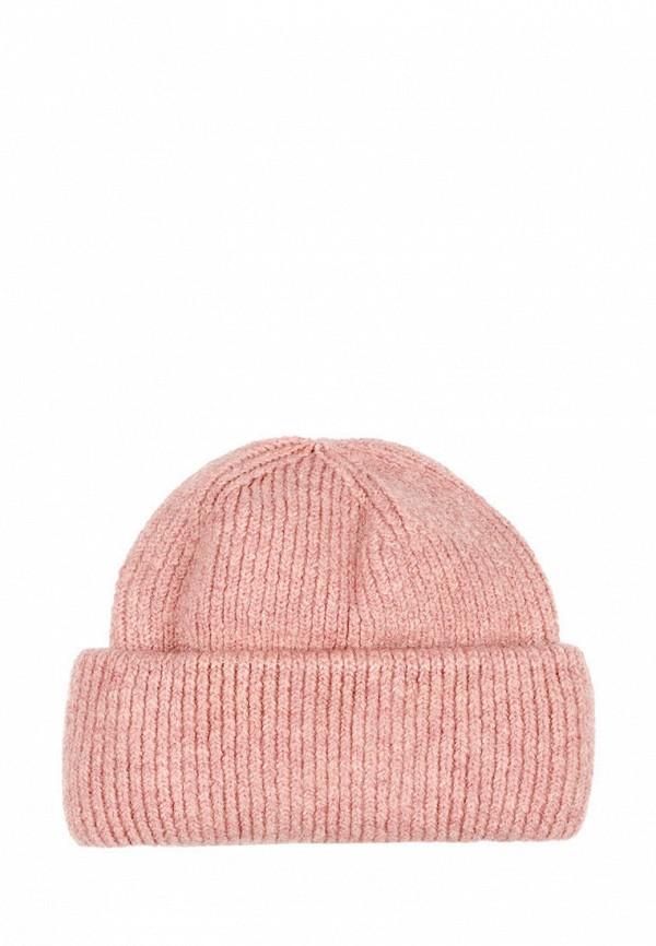 женская шапка l'maro, розовая