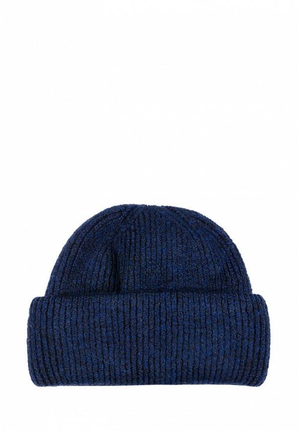 женская шапка l'maro, синяя