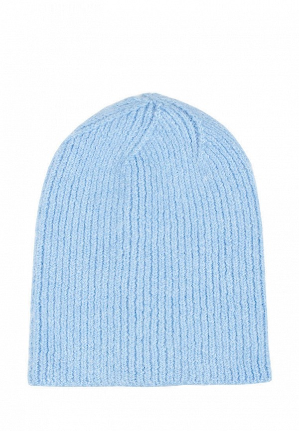 женская шапка l'maro, голубая