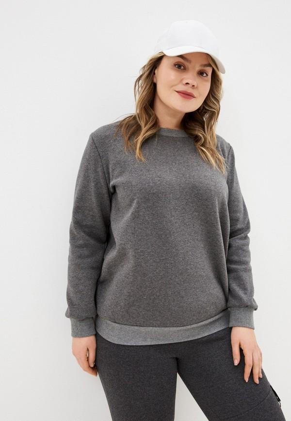 женский свитшот sparada, серый